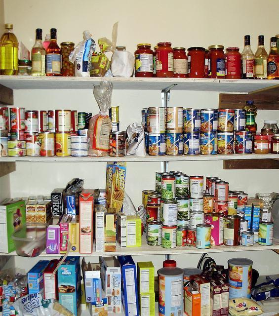 Voorraadkasten - Voorjaarsschoonmaak in de Keuken