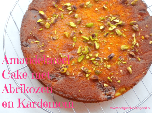 Amandelmeel Cake Abrikozen Kardemom
