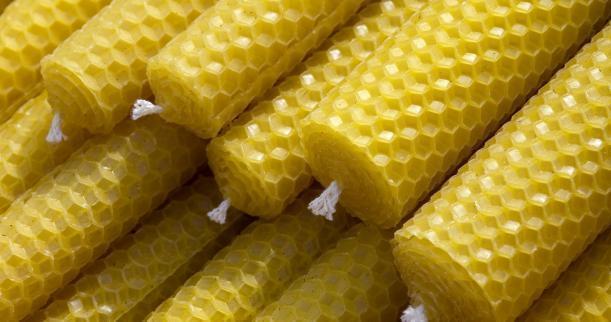 Bijenwaskaarsen