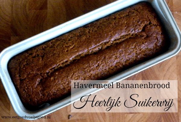 Havermeel Bananenbrood