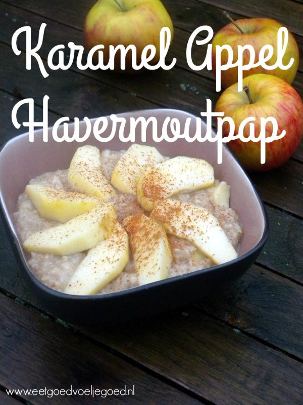 Karamel Appel Havermoutpap