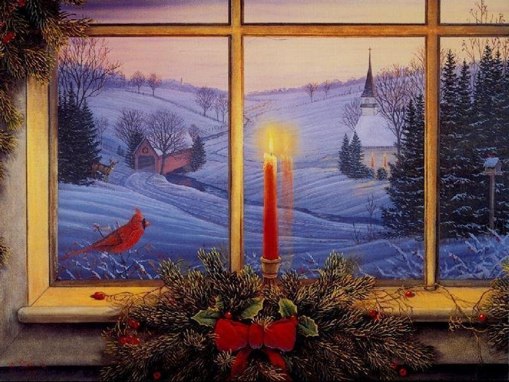 Kerst scene