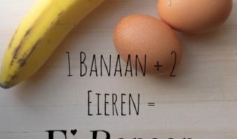 Ei Banaan Pannenkoekjes