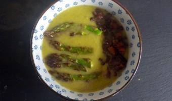 Groene Asperges en Spinazie Soep