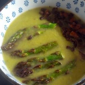 groene asperges soep