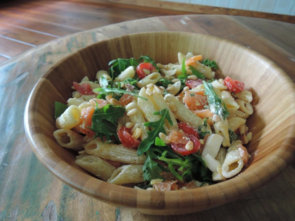 Recept zomerse spelt pasta salade en review by boo tafel eet