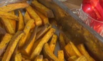 Zoete Aardappel Patat 2