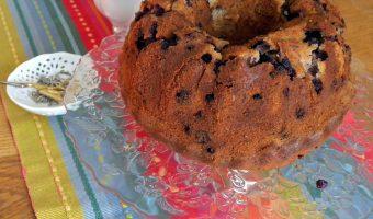 Bosbessen en Citroen Tulband – Glutenvrij