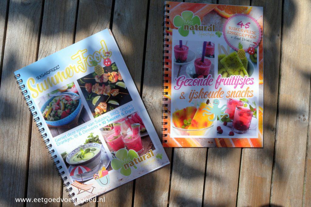 Miss Natural kookboekjes
