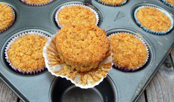 Havermout Cupcakes uit de Oven