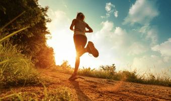 sport en voeding hardloper