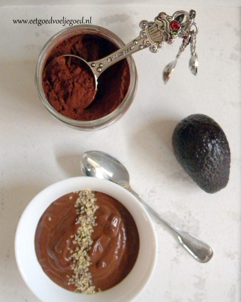 Chocolade Mousse Avocado2