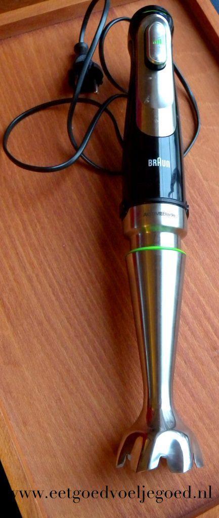 Braun MultiQuick 9 staafmixer