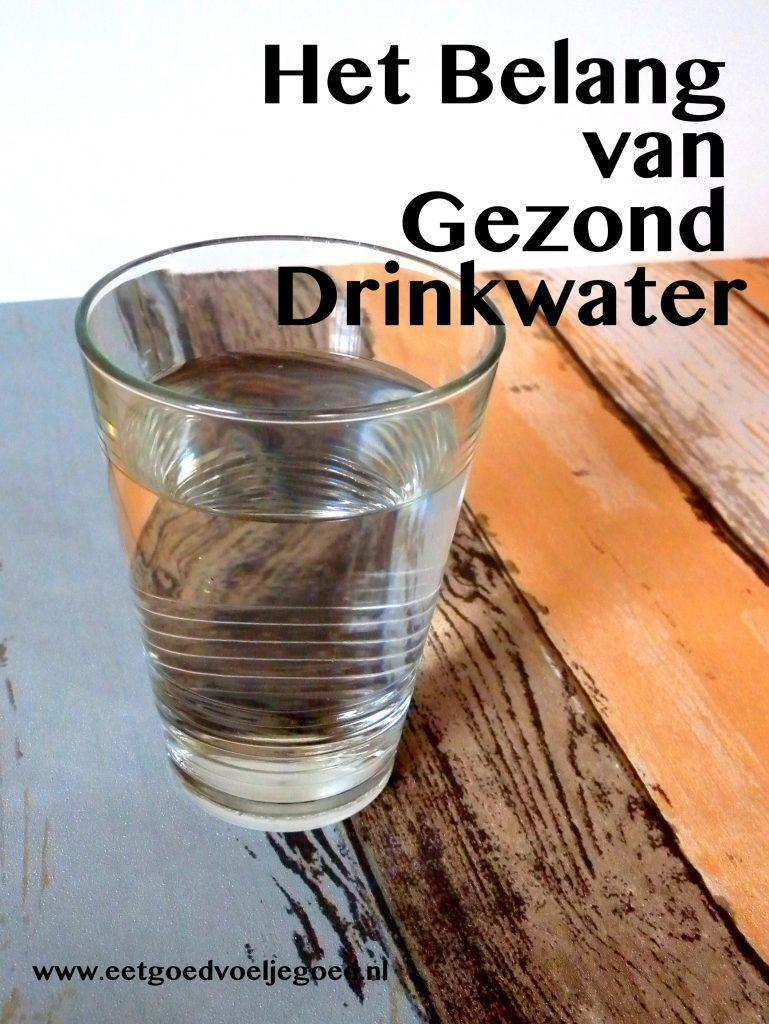 Gezond Drinkwater