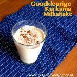 Goudkleurige Kurkuma Milkshake