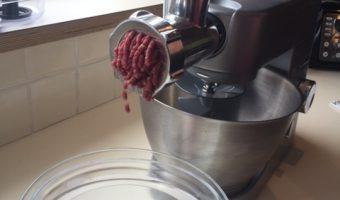 Steak Tartare met de vleesmolen van Kenwood