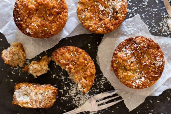 Kokosmeel Pompoen Muffins