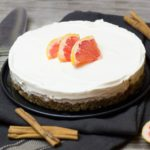 Grapefruit en Kaneel Vegan Cheesecake
