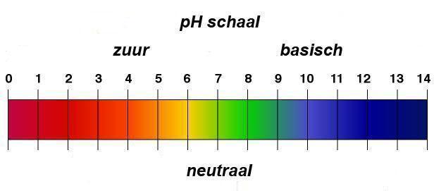 pH Balans schaal