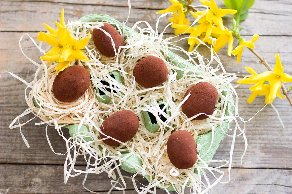 Paaseitjes chocolade truffel