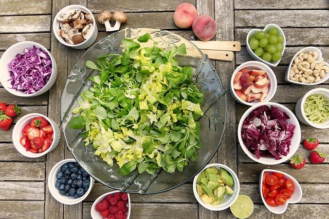 perfecte salade maken