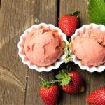 Aardbeien Roomijs – Lactosevrij
