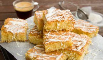 Kokos en Banaan Plaatcake – Glutenvrij, Lactosevrij