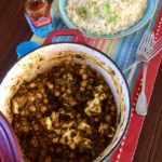 Indiase Kikkererwt en Paneer Curry