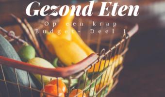 Gezond Eten Budget