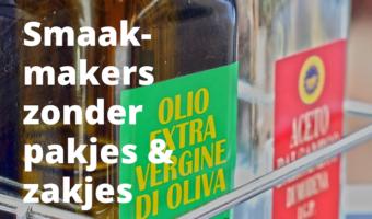 Smaakmakers zonder pakjes en zakjes