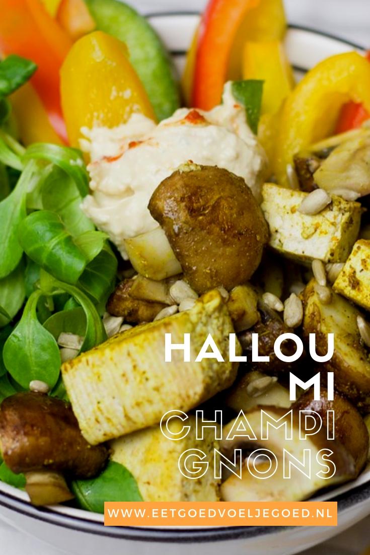 Halloumi salade 1