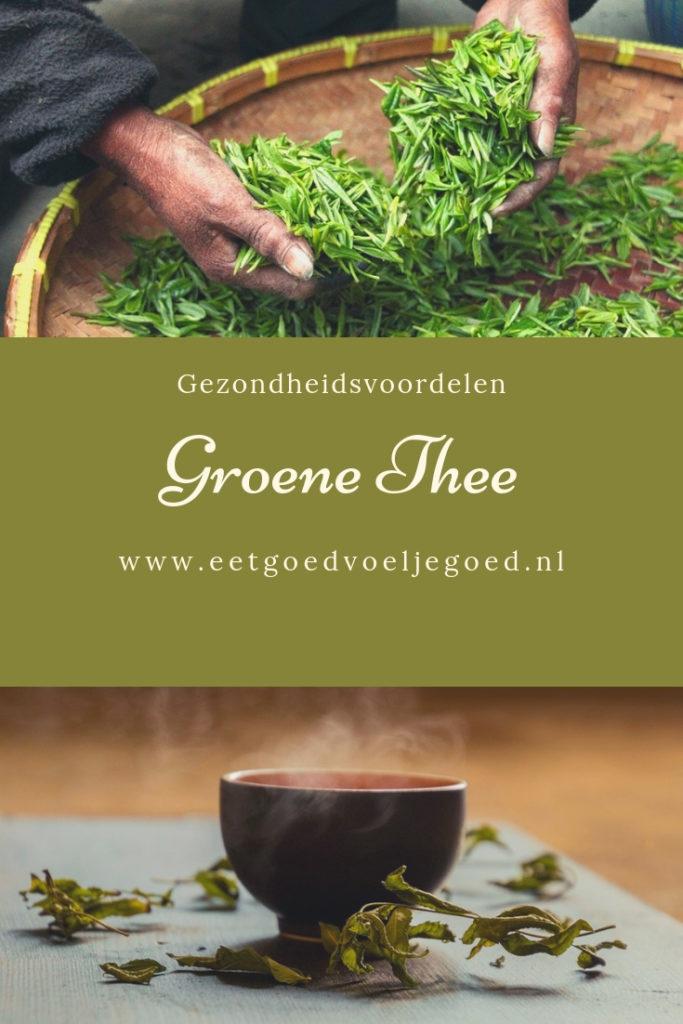 Groene thee Voeding tegen kanker