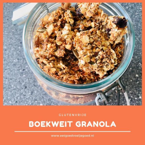 Glutenvrije Boekweit Granola