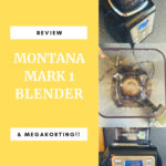Montana Mark 1 Blender Review + Kortingsactie!!