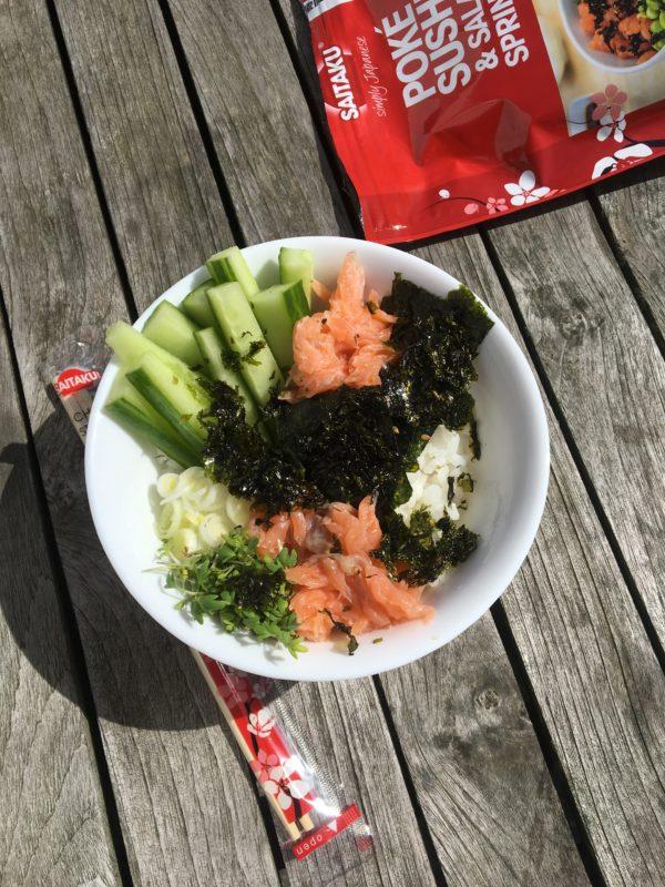 Sushi Bowl met Saitaku