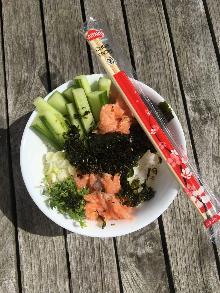 Sushi Bowl met Saitaku 2