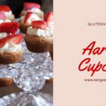 Mini Aardbei Cupcakes – Glutenvrij & Suikervrij