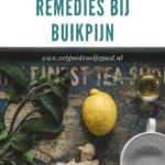 8 Natuurlijke Remedies bij Buikpijn
