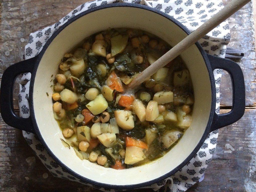 stoofschotel groente