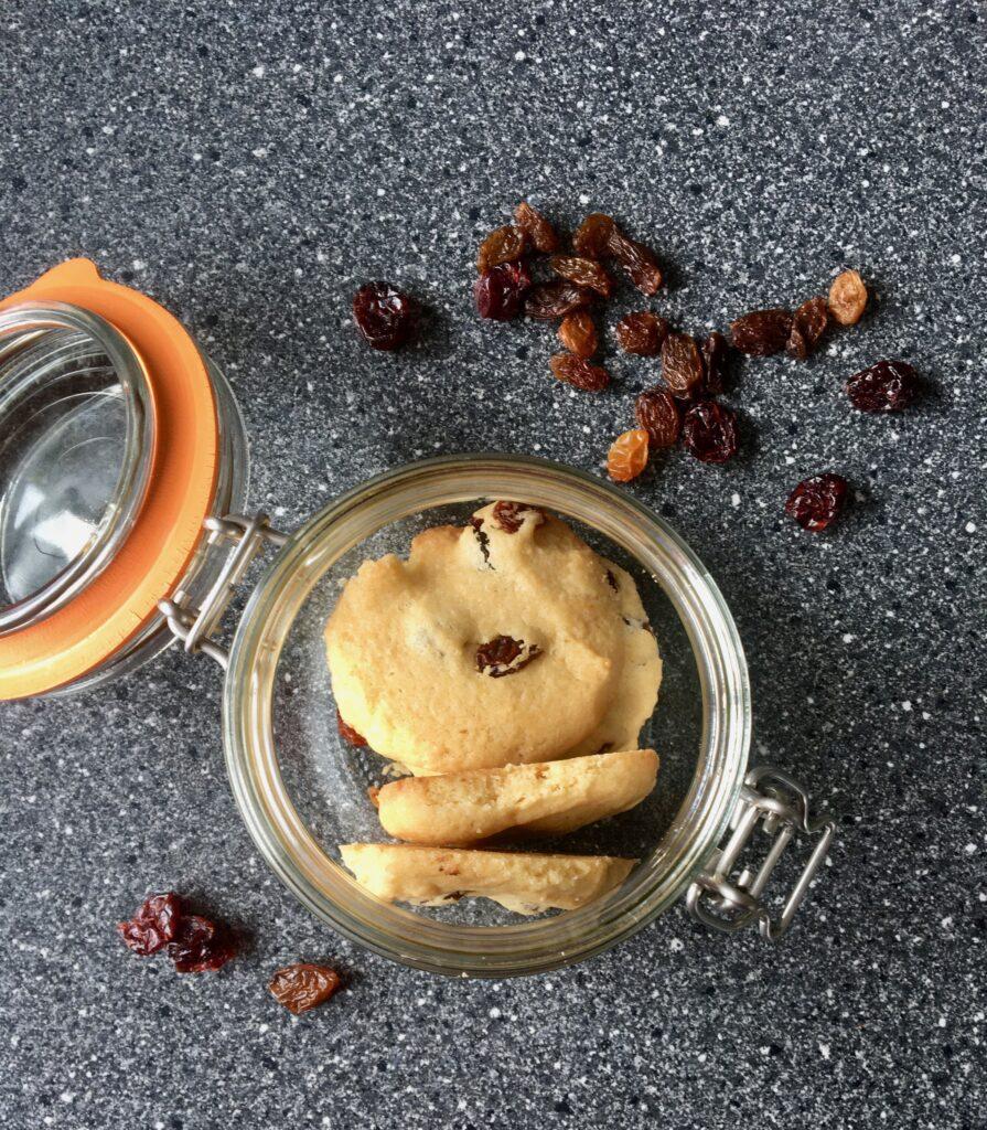 Glutenvrije Rozijnenkoekjes 2