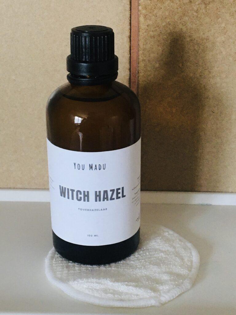 Witch hazel voor natuurlijke lichaamsverzorging