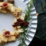 Kaas Kerstkrans – Een leuke manier om een kaasplank te serveren!