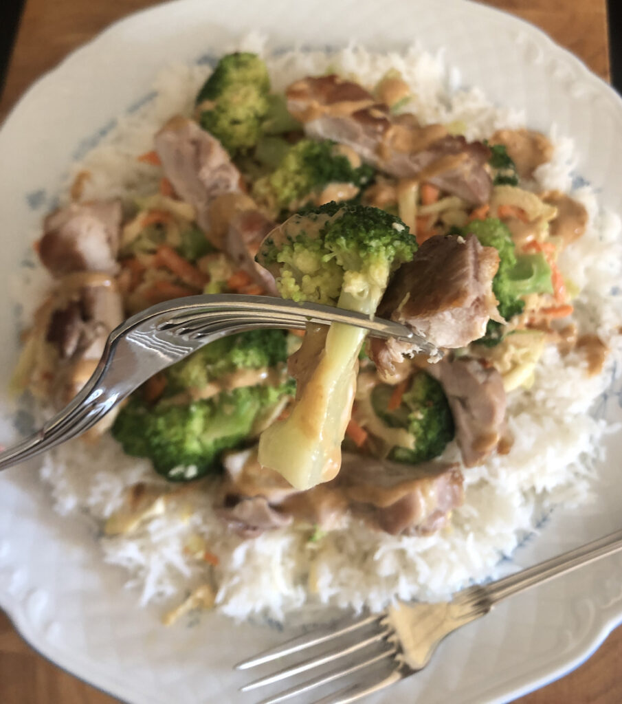 Broccoli Salade Close-up