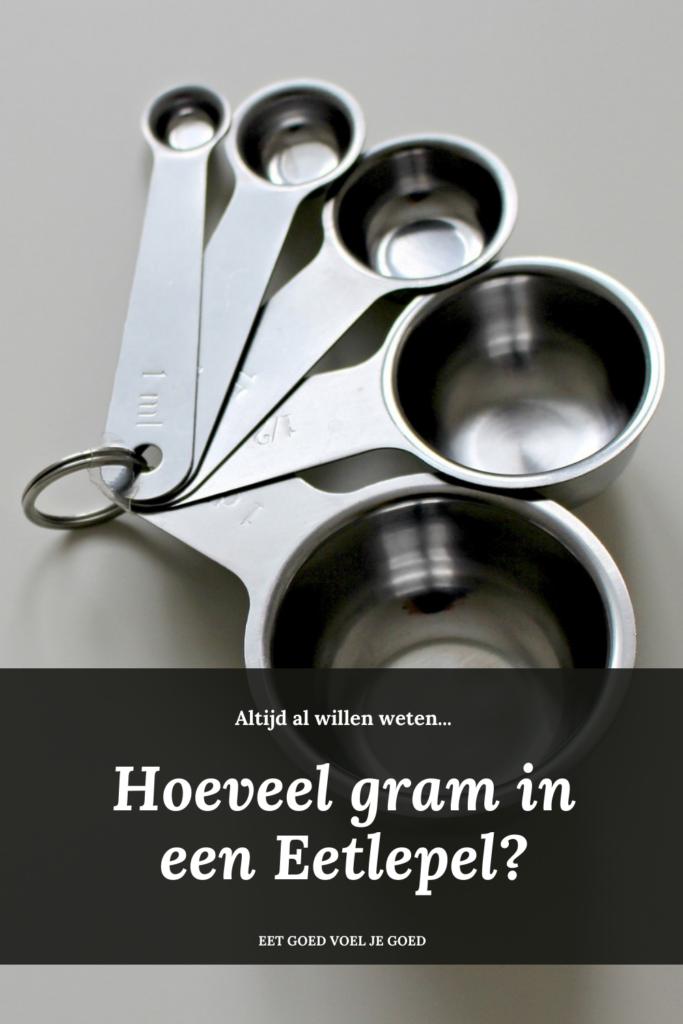 Hoeveel gram is een Eetlepel?
