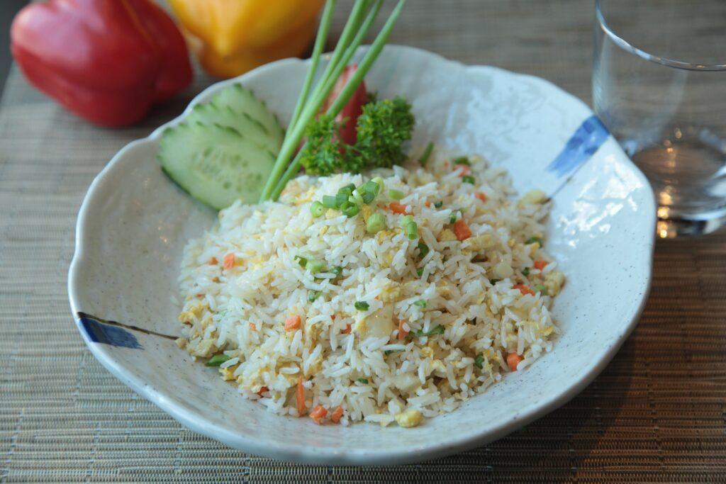 Nasi zoals bij de Chinees