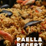 Vakantiegevoel: Paella met Grote Garnalen en Mosselen