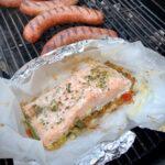 Zalm op de BBQ – Makkelijke vispakketjes om te grillen