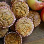 Appeltaart Muffins van Moesappels – Glutenvrij & Suikervrij