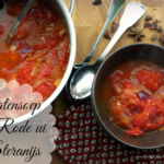 Comfort Food – Tomatensoep met Rode ui en Steranijs