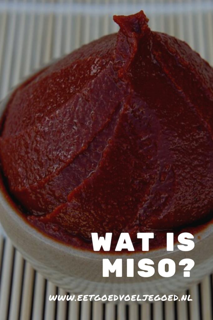 Wat is miso?